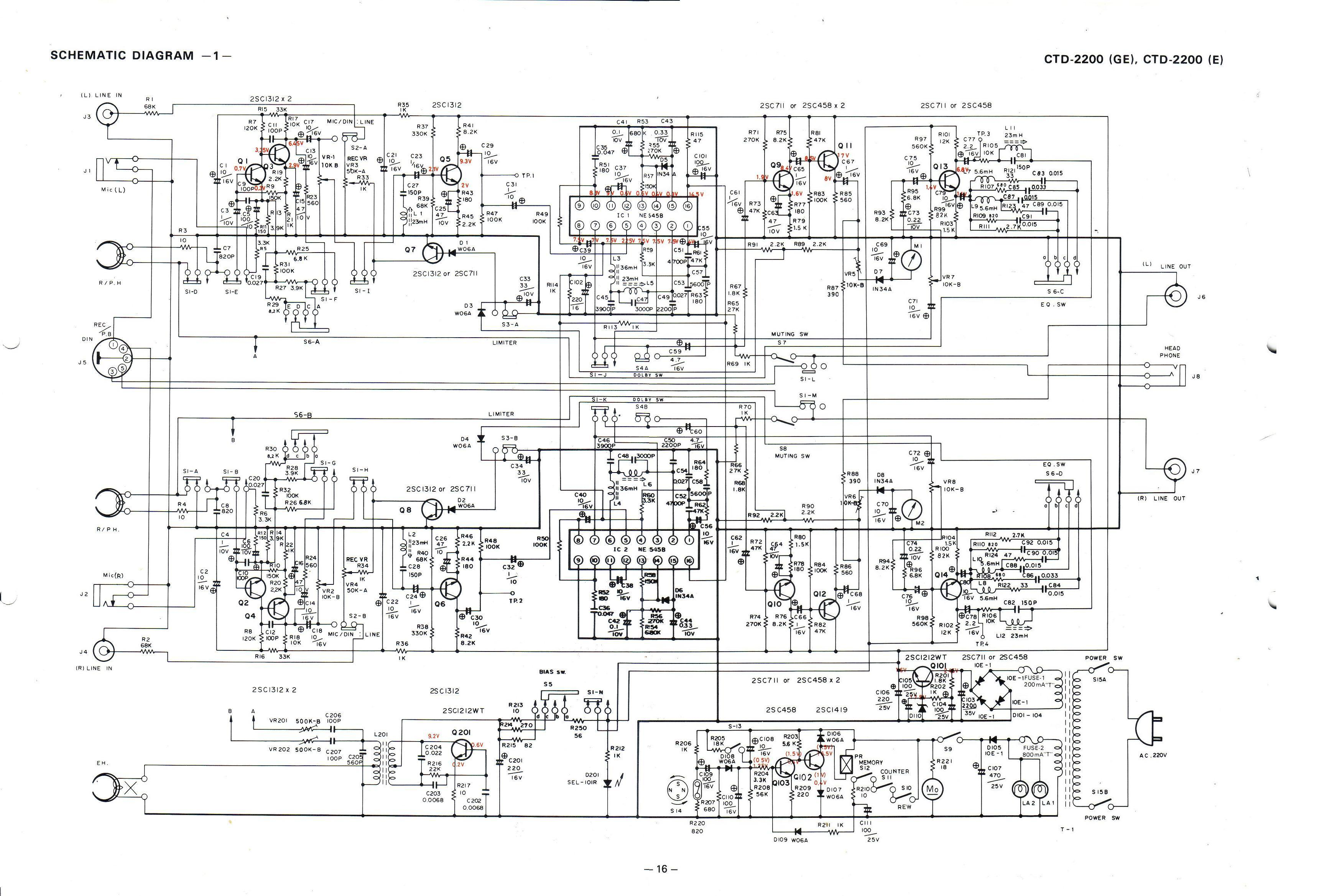 2001 crown vic fuse diagram vintage technics, crown ctd-2200