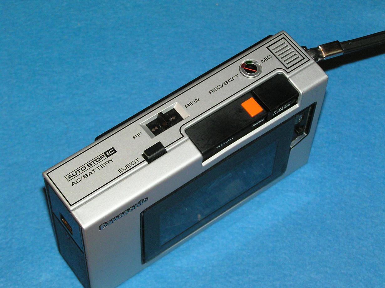 Vintage Technics Panasonic Rq 212dks