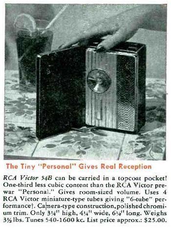 Vintage Technics, RCA Victor 54B2