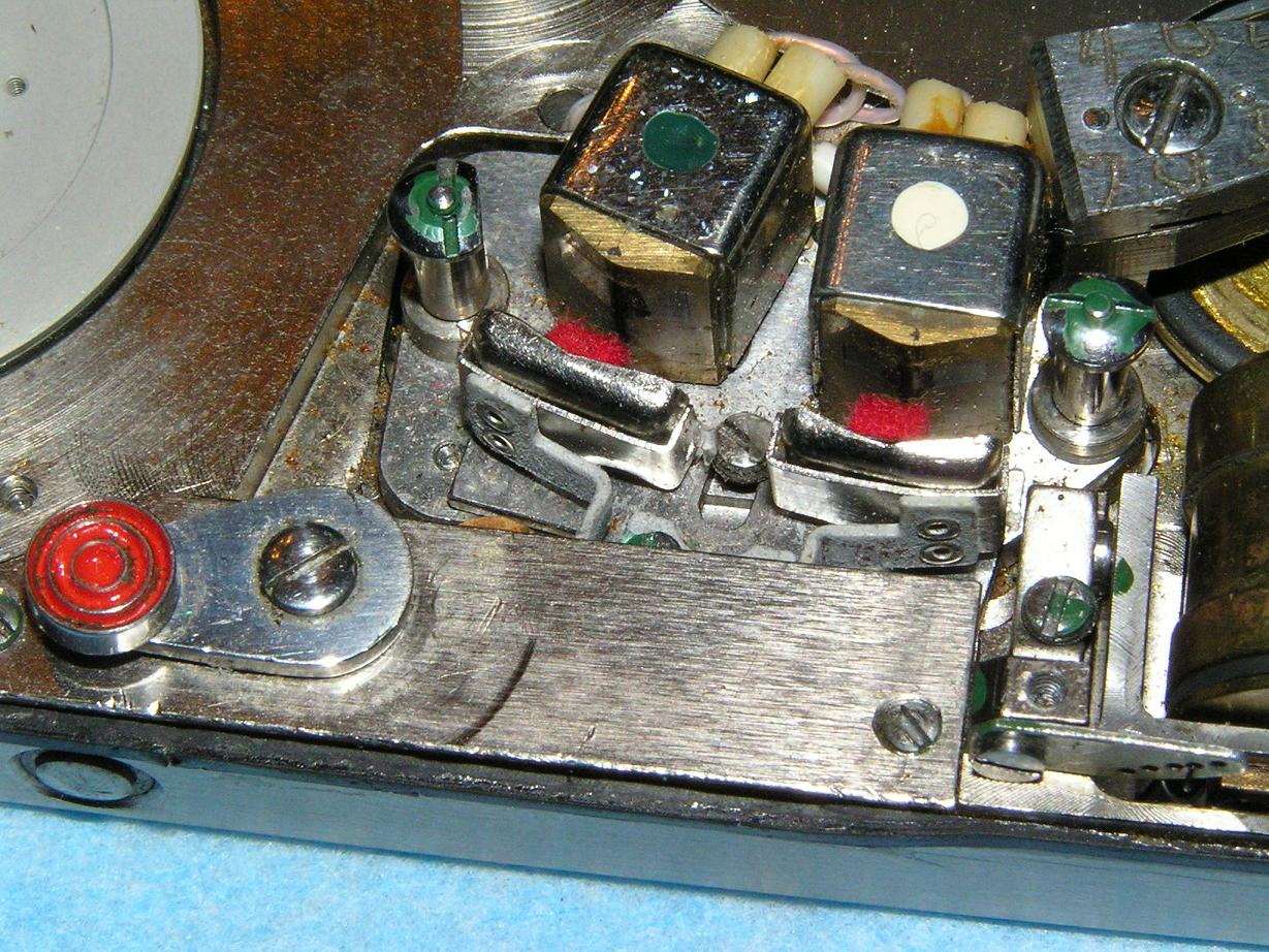 Vintage Technics Spy Tape Recorder Grooved Wiring Board If You Remove The Bottom Cover Allows Access To Internal And Electronics Three Wires Are Placed In Machined Grooves