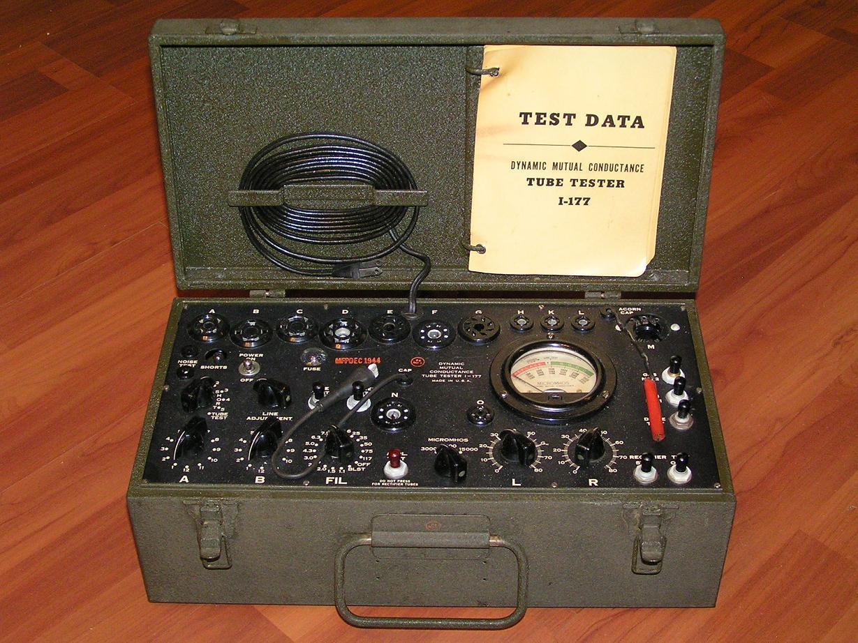 Vintage Technics, Tube Tester I-177